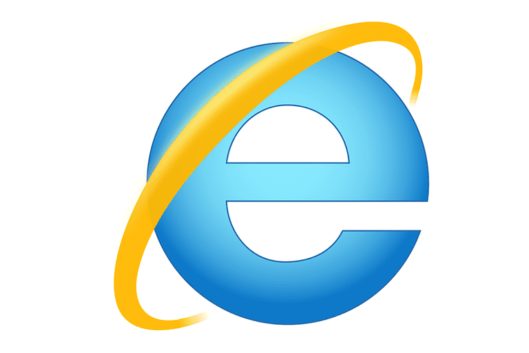 Screenshot of the Internet Explorer logo