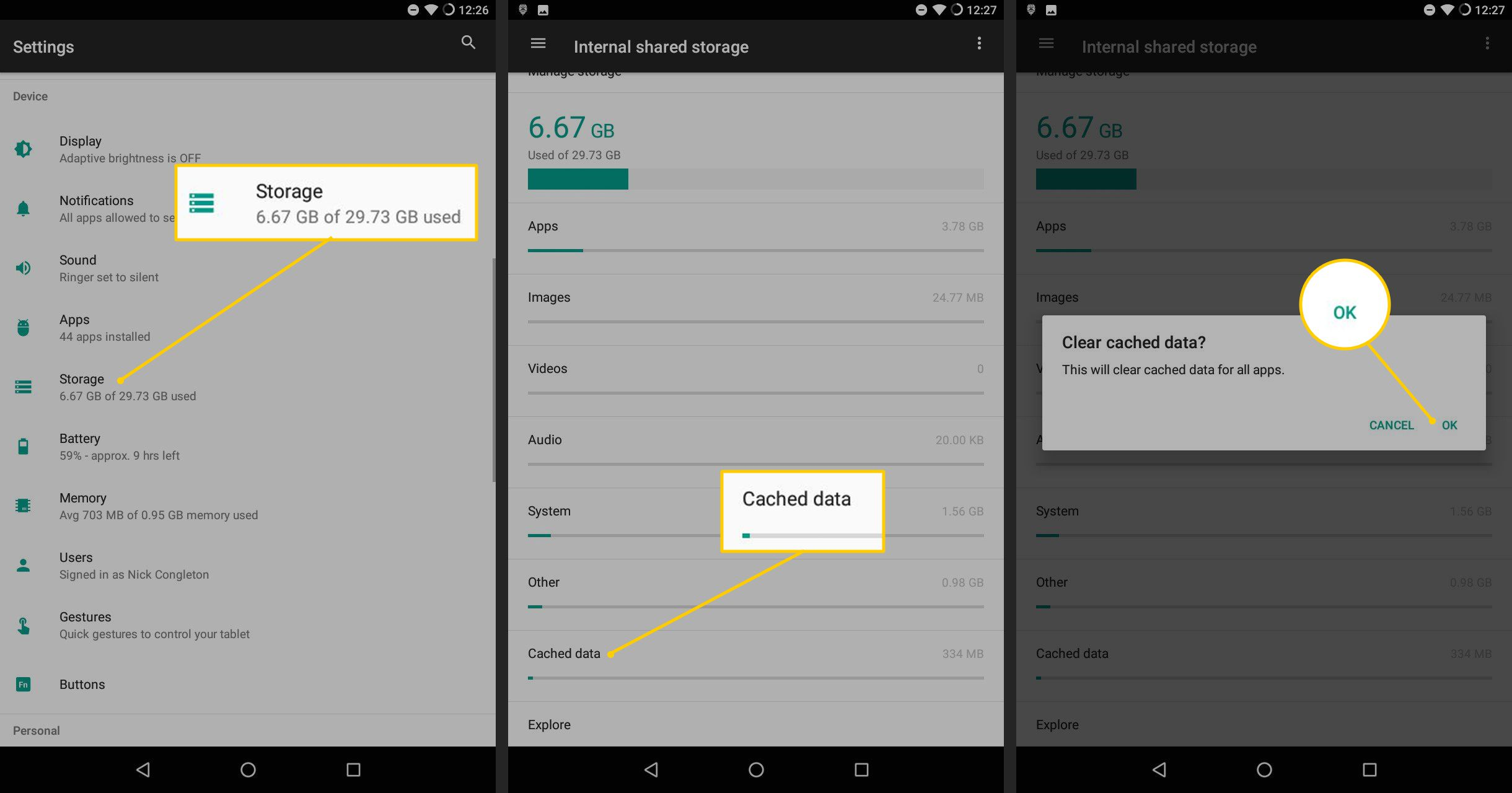 How to Clear Cache Data on Your Android