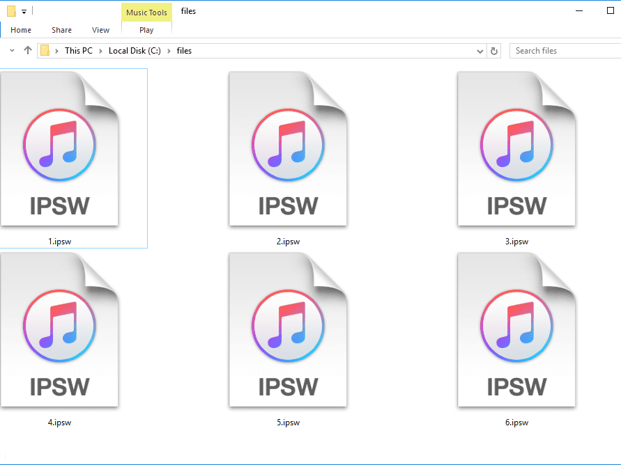 IPSW File (What It Is & How to Open One)