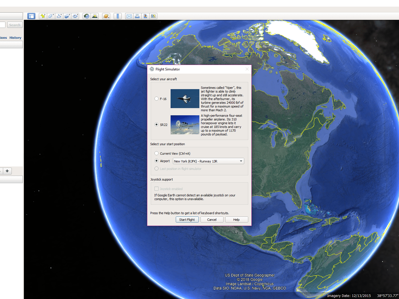 How to Find the Hidden Flight Simulator in Google Earth
