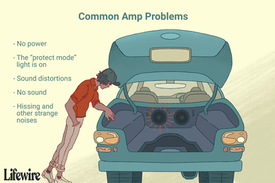 The common car amp problems that one might experience.