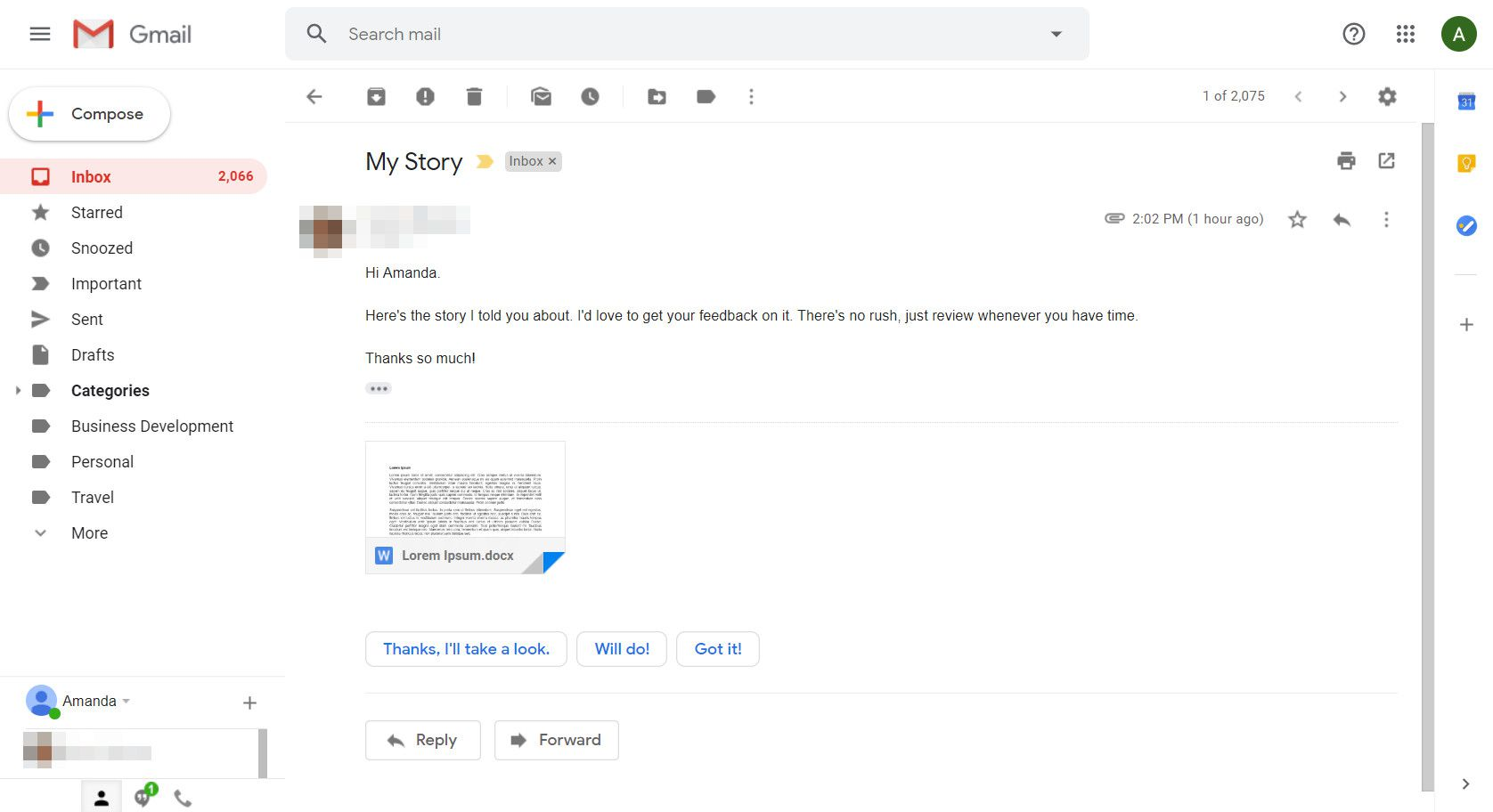 How to Preview Gmail Attachments Without Leaving the Message