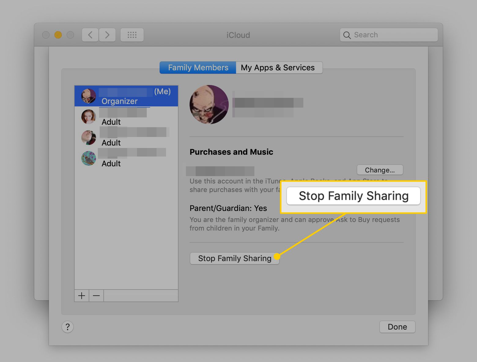 How to Turn Off Family Sharing for iTunes