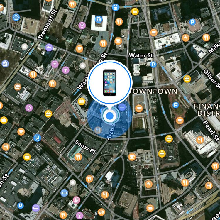 Find My Iphone Gps Track