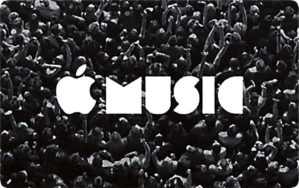 Apple Music gift card.