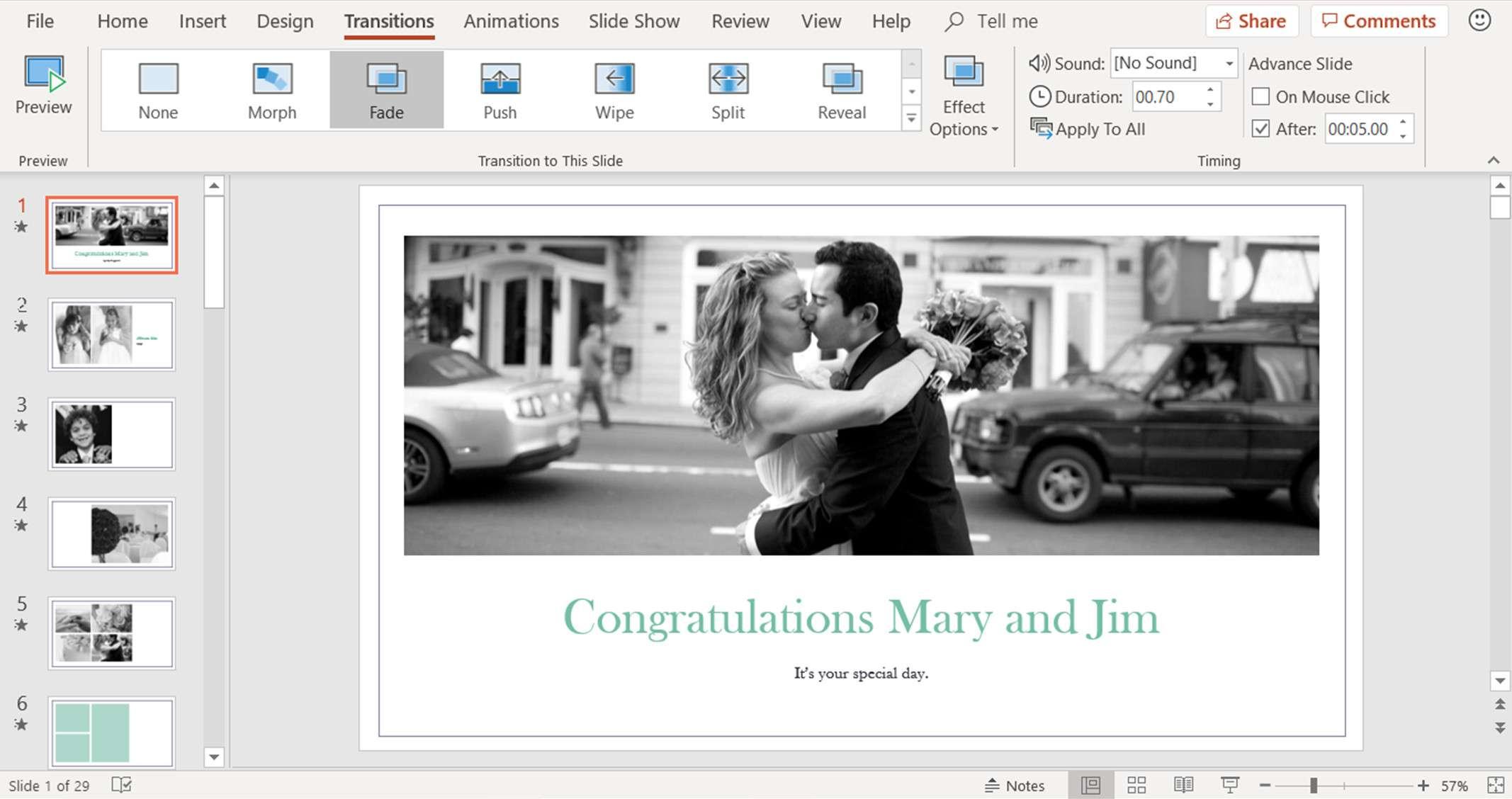 Create A Wedding Powerpoint Presentation