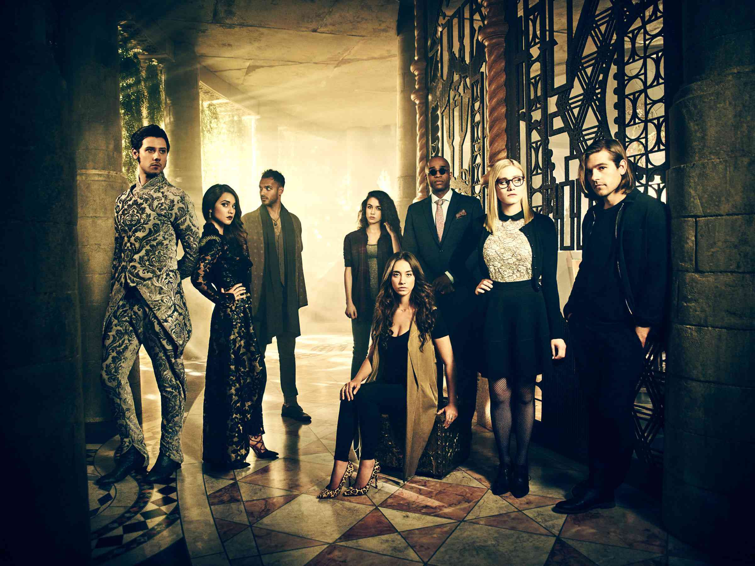 The cast of the TV show 'The Magicians.'