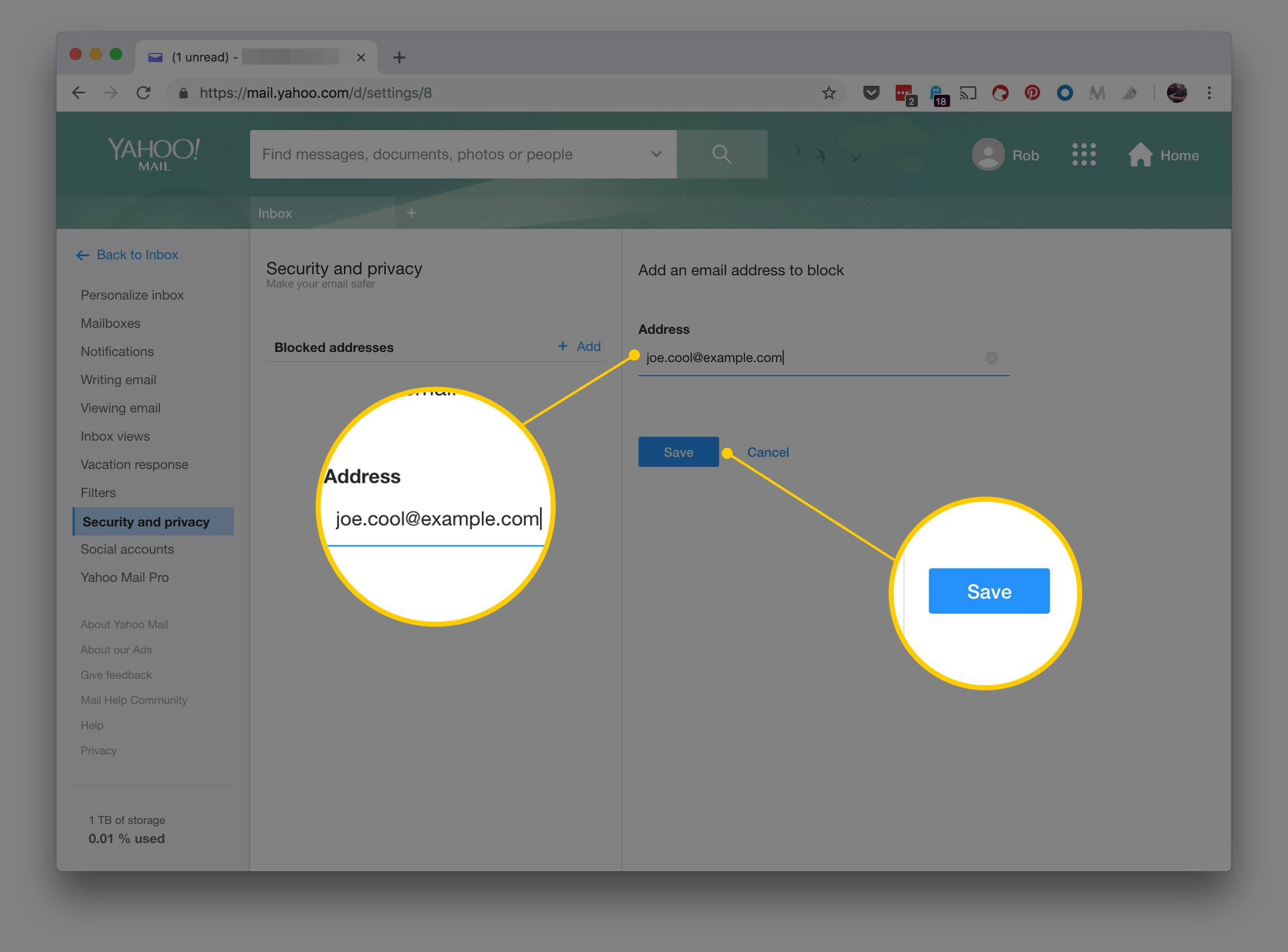 how do i block email - Monza berglauf-verband com