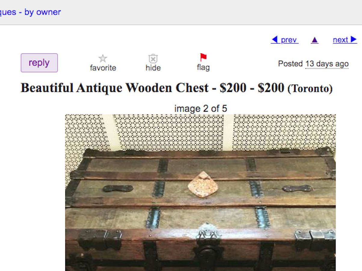 How To Report A Craigslist Scam
