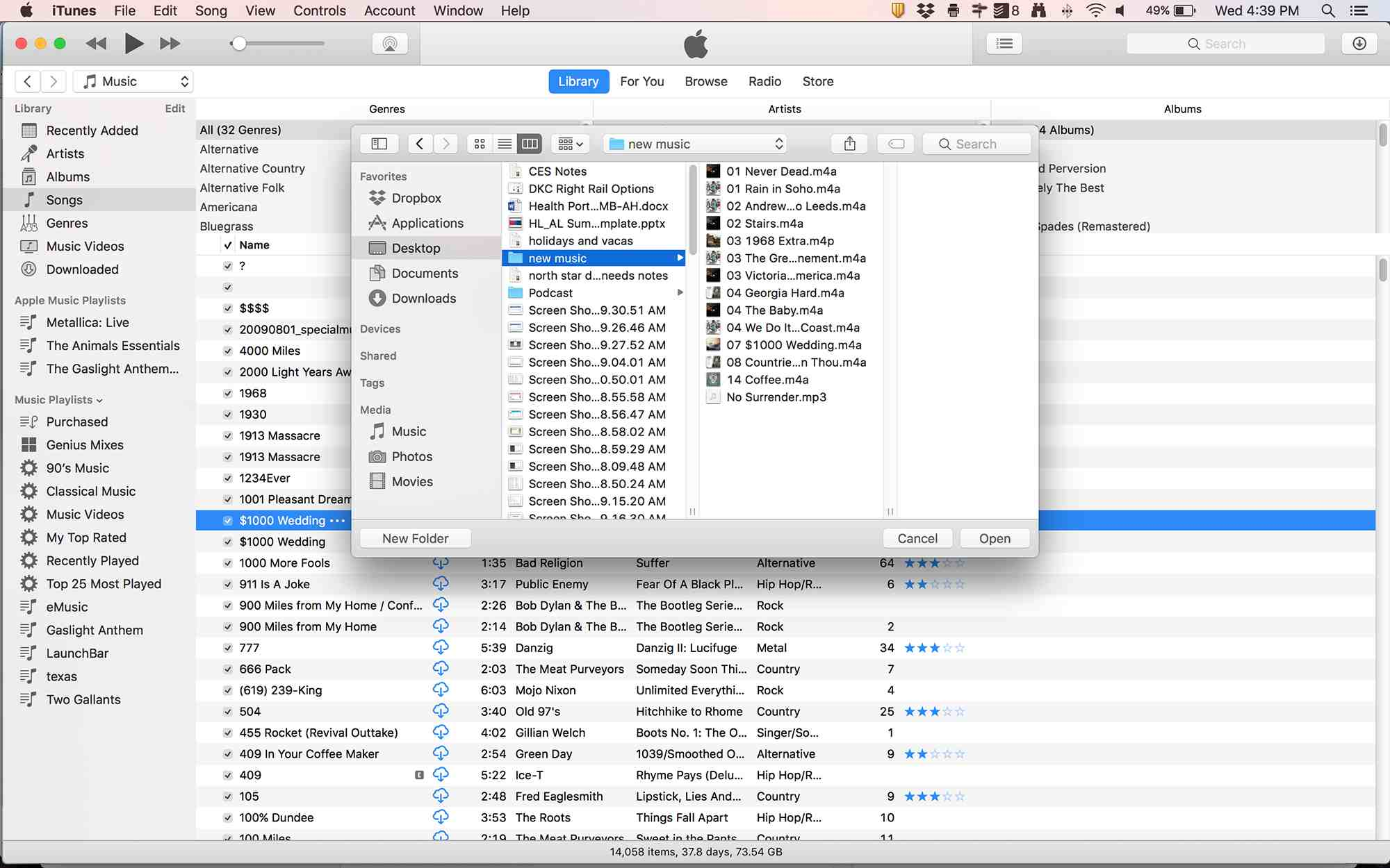 How to Add Folders of Music to iTunes