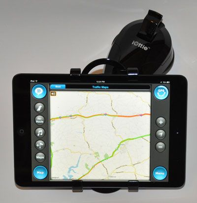 iPad Mini for GPS Navigation