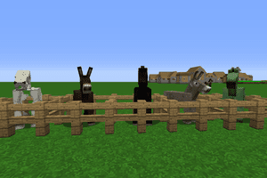 Minecraft Horses, Donkeys & Mules