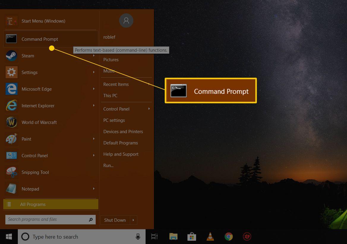 factory reset windows 7 command prompt