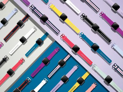 Colorful Fitbits