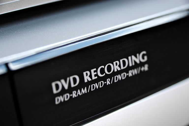 DVD recorder close-up