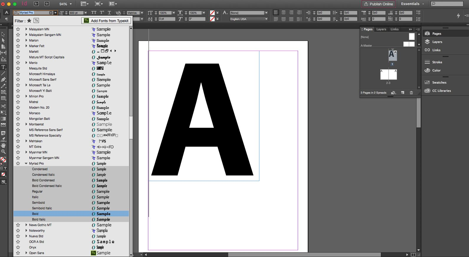 how to create a mask on text indesign