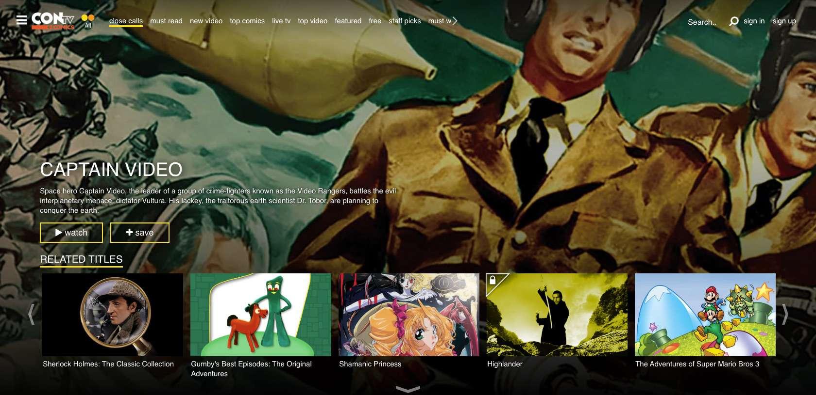 Contv.com website