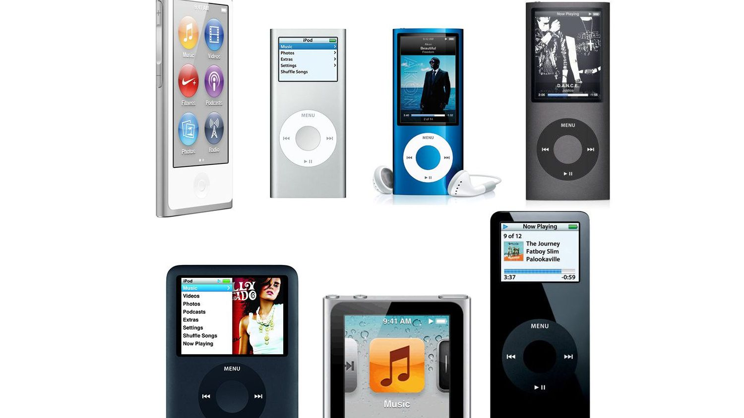 5th 6th 3rd 8GB Apple iPod Nano 1st 7th 4th 16GB 8th Generation//4GB 2nd