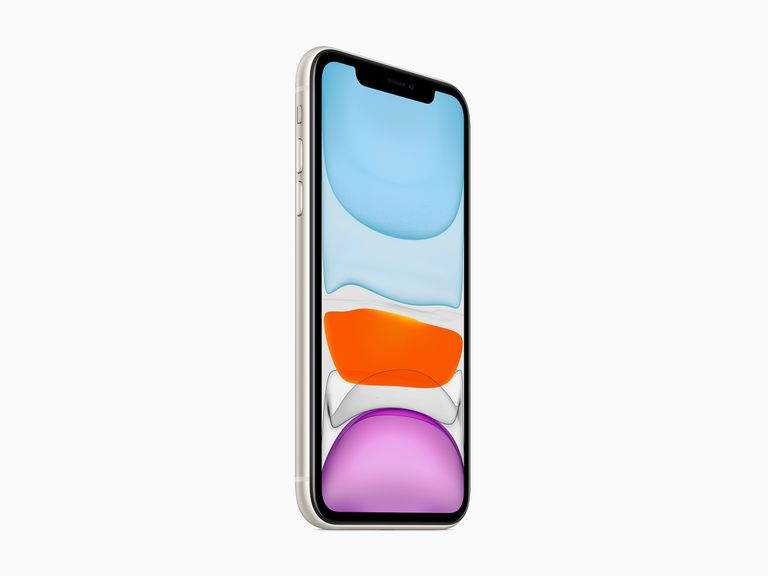 The iPhone 11's Liquid Retina Display screen