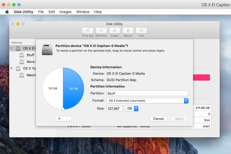 How to Resize a Mac Volume With Disk Utility