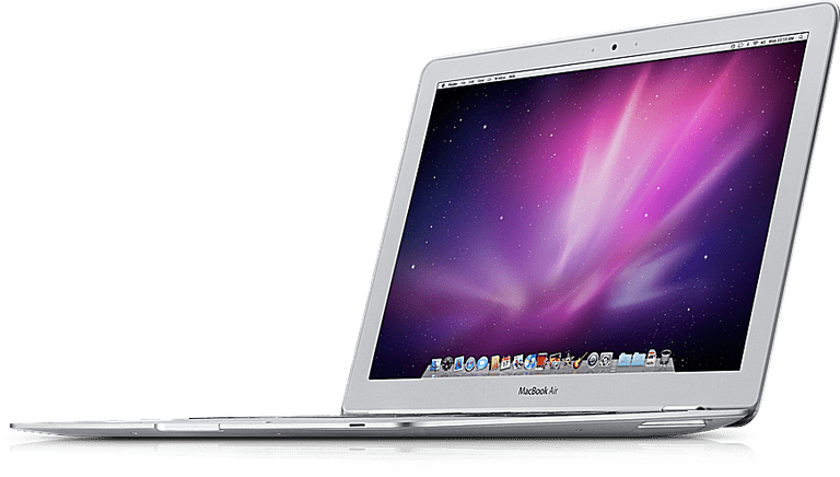 MacBook Air ultraportable laptop