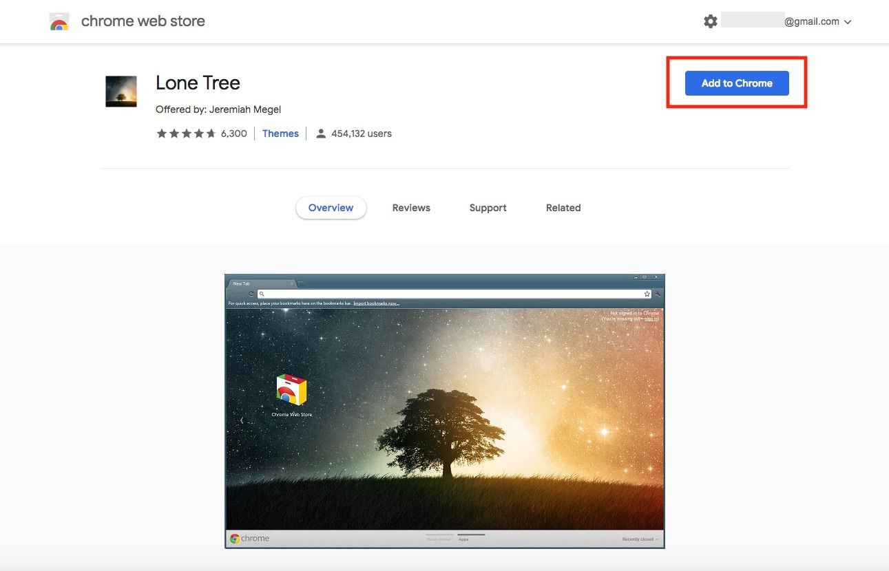A screenshot of the Chrome Web Store.