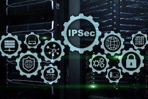Illustration IPSec concept image