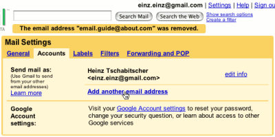 how to send emails from your other addresses in gmail