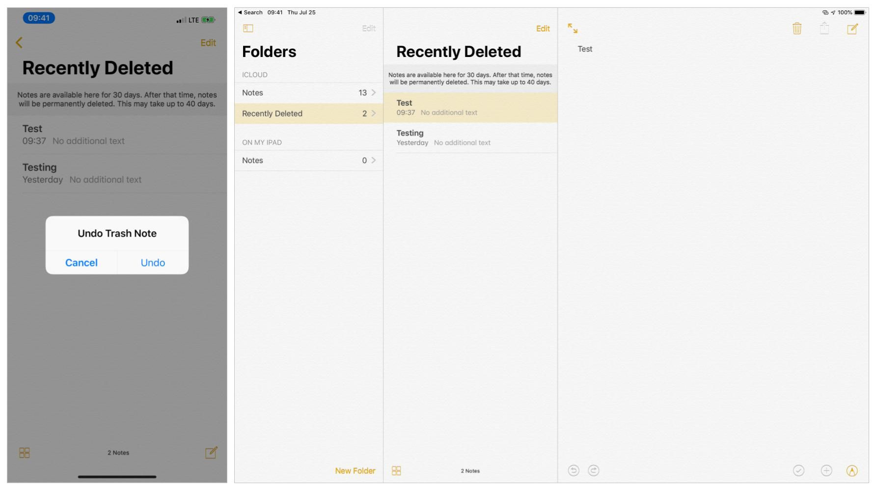 How to Undo in Notes on iPhone and iPad