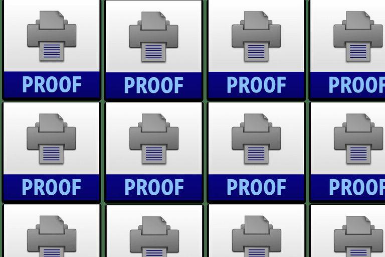 Adobe Photoshop Proof Settings File Icons