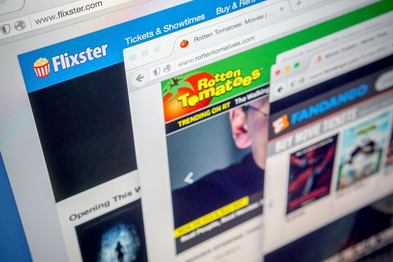 An image of Flixster.com in a web browser.