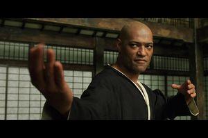 Scene from The Matrix