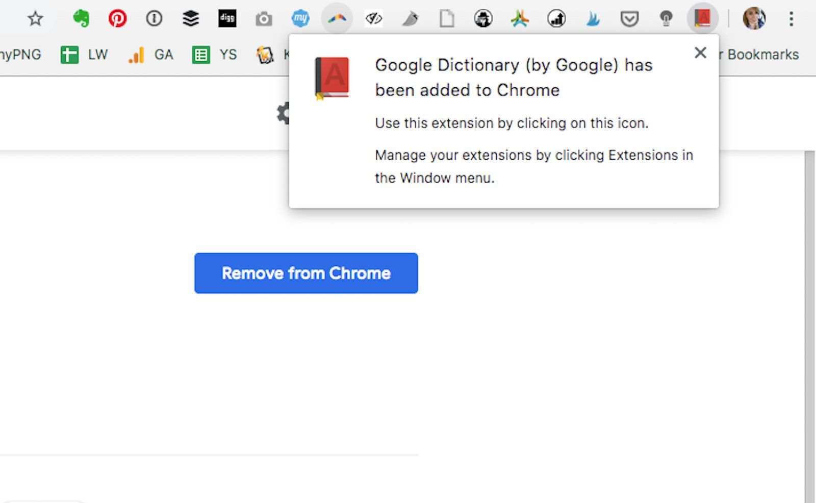 How to Use the Google Dictionary Browser Extension