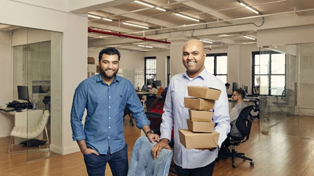 The Sharebite founders, Mohsin Memon (Left) and Dilip Rao (Right).