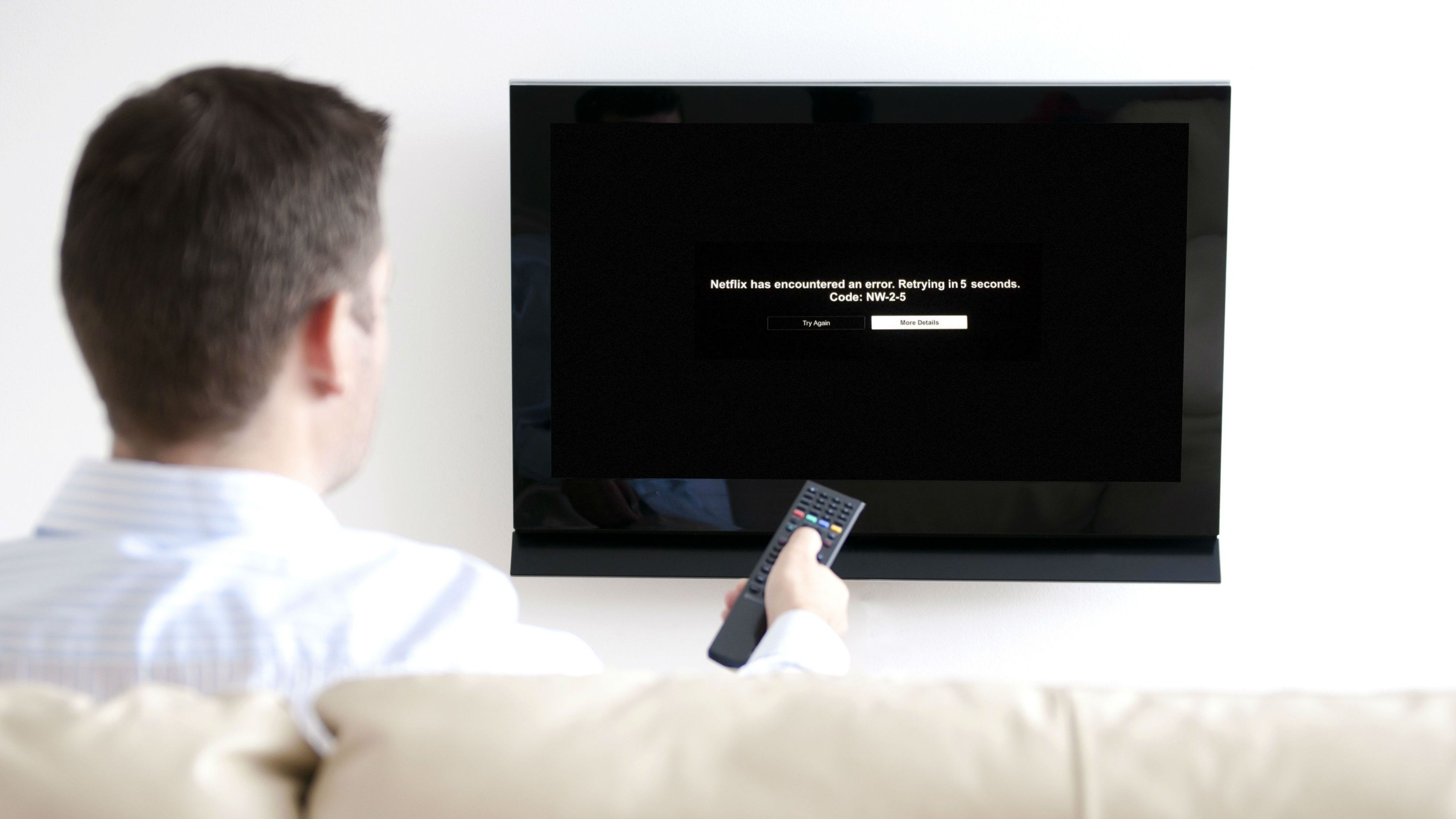 How to Fix Netflix Error Code NW-2-5