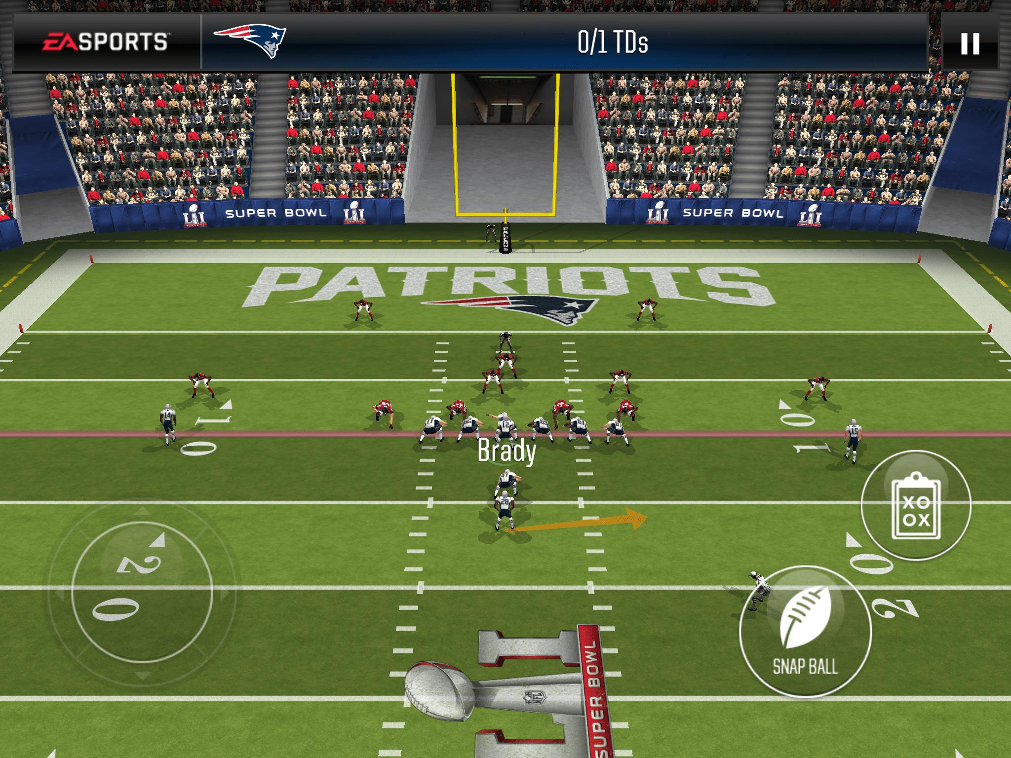 Screenshot of MADDEN NFL Football