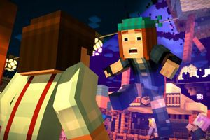 Characters in Minecraft story mode