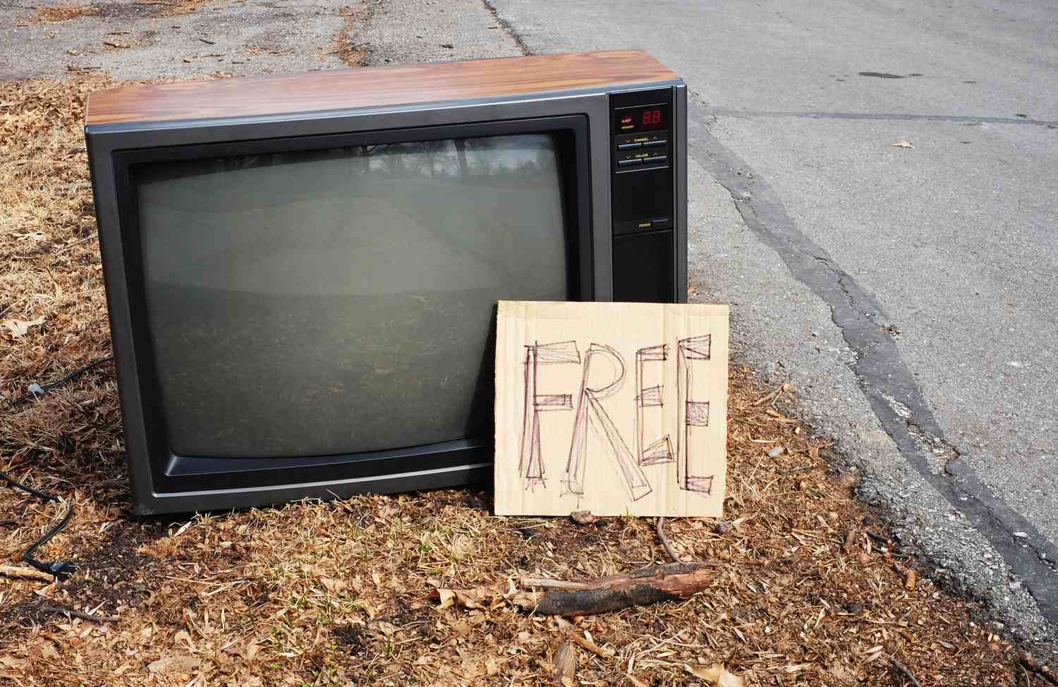 Free TV On Curb