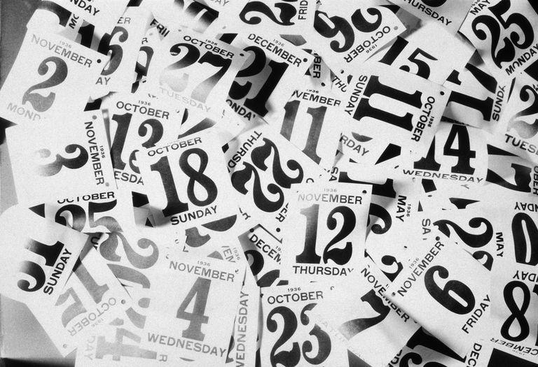 Daily tear-off Calendar sheets
