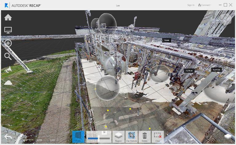 Autodesk ReCap application screenshot