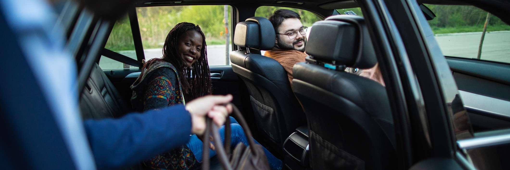 Carpooling friends