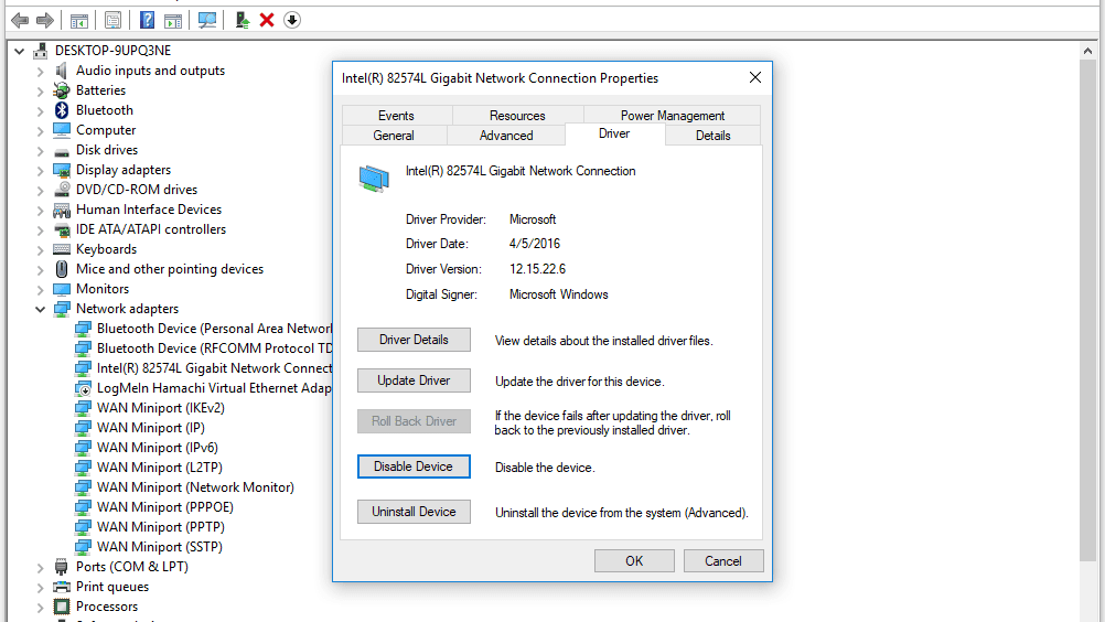 How Do I Disable a Device in Device Manager in Windows?