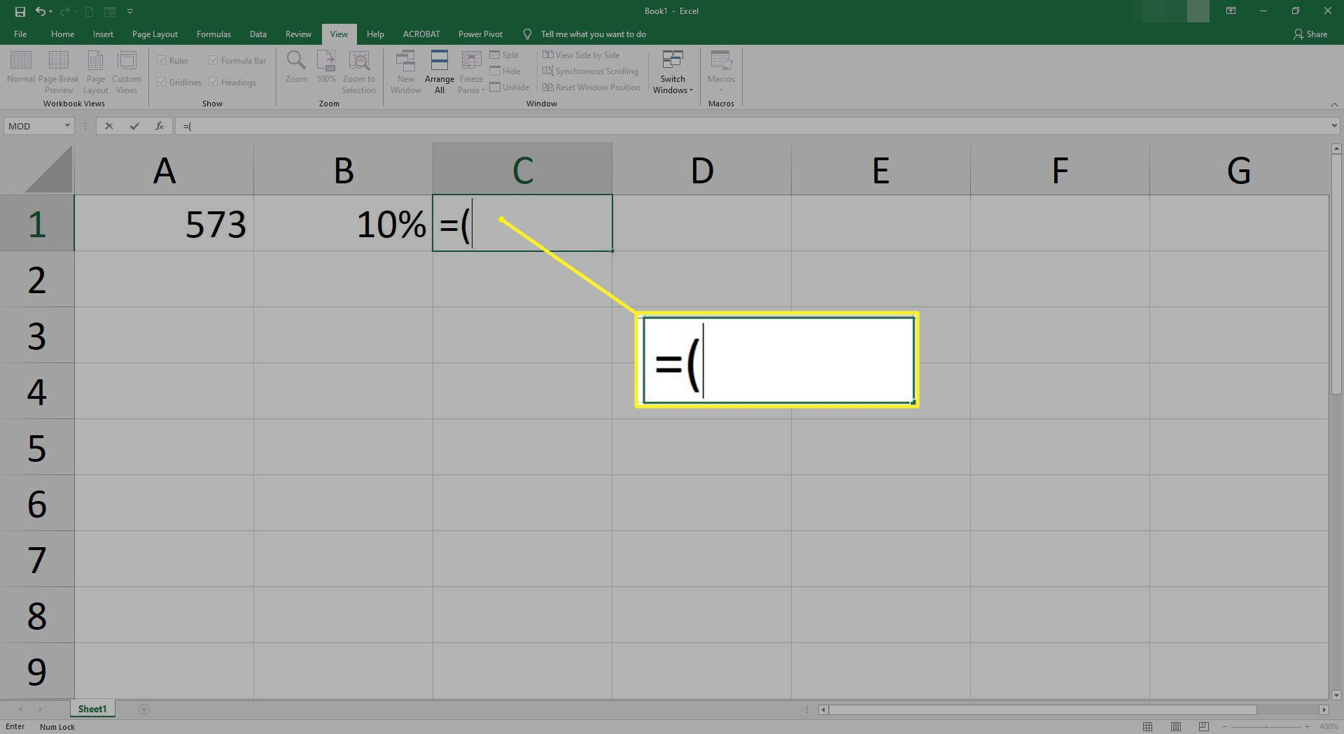 How to Calculate Percentage in Excel
