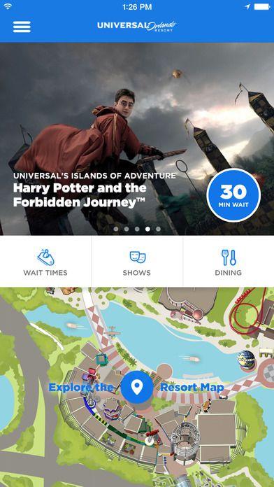 Official Universal Orlando Resort App