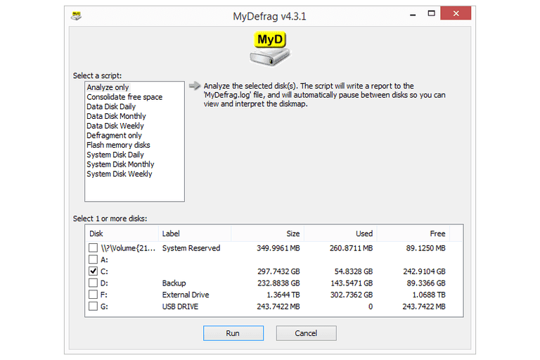 MyDefrag v4 3 1 Review (A Free Defragmenter Program)
