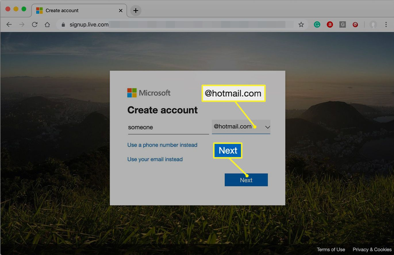Www hotmail co uk sign in login signup email service