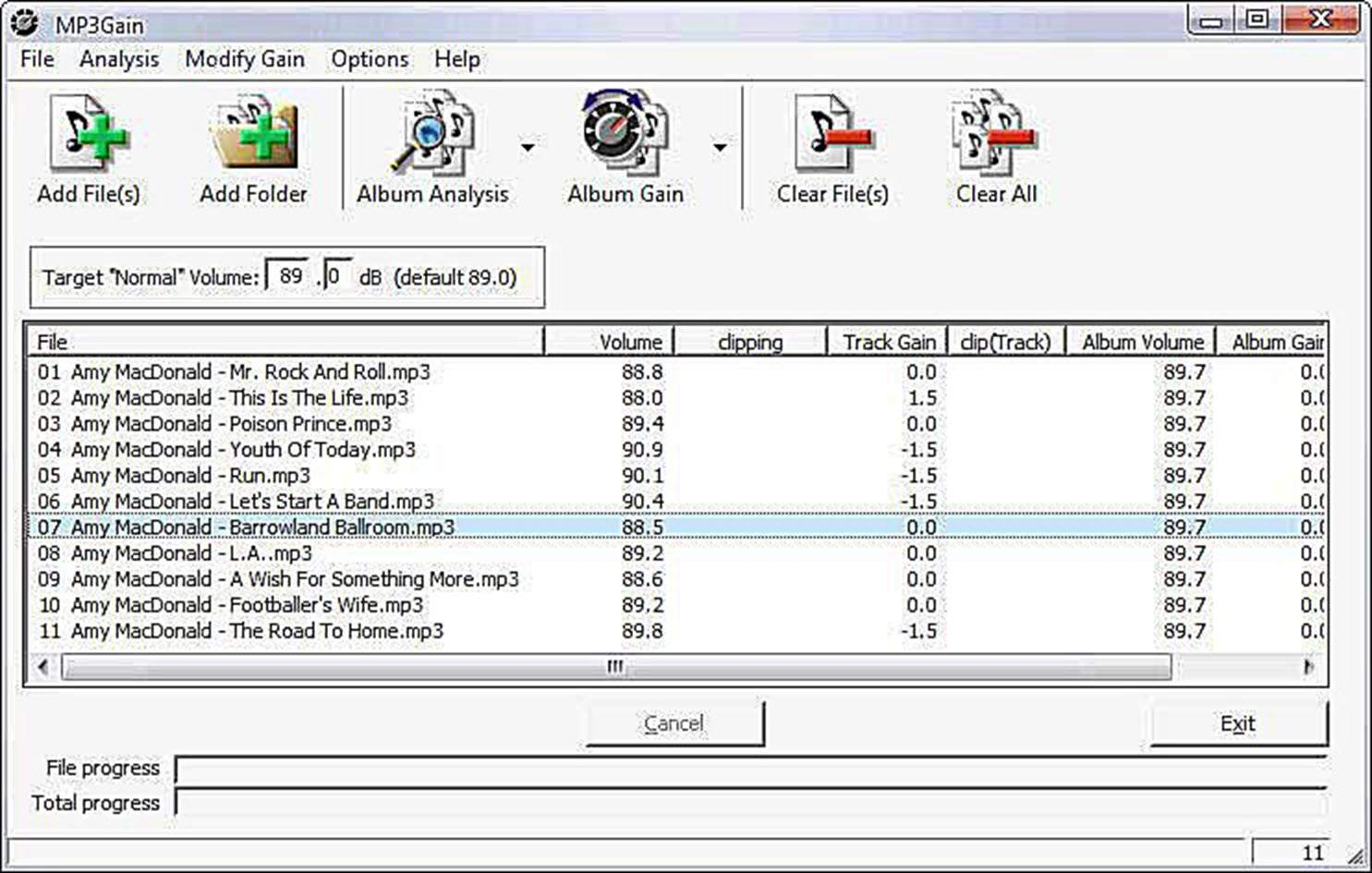 download mp3gain for windows