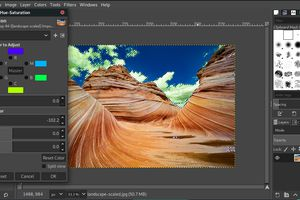 Use the color select tool in GIMP