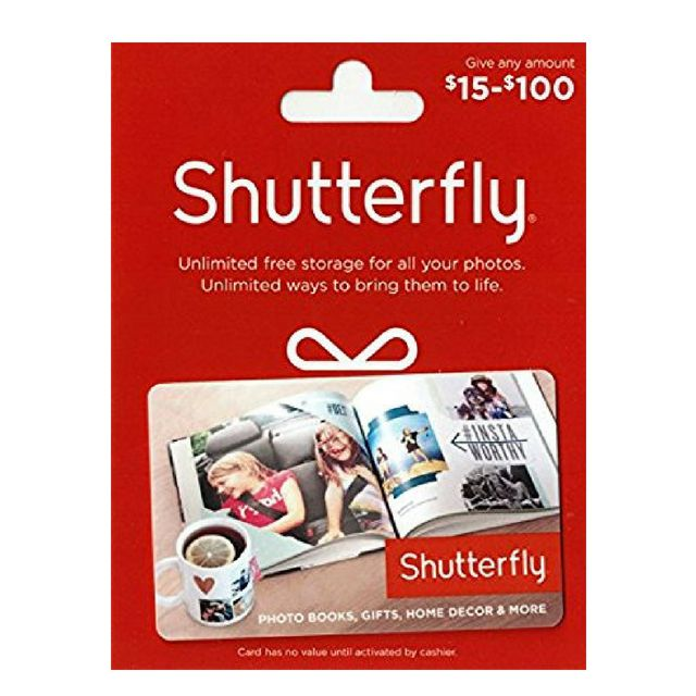 Best For Printing Photos A Gift Card To Shutterfly
