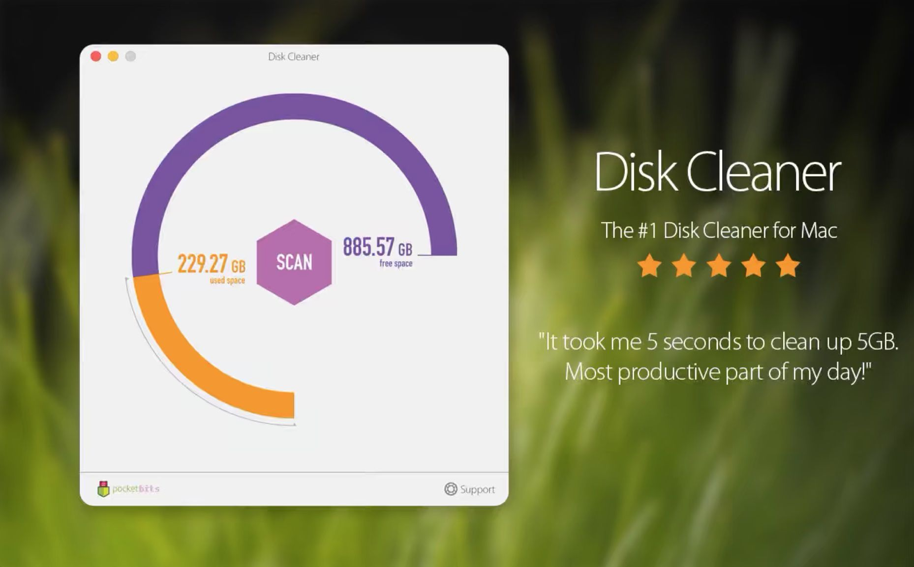 Disk Cleaner for macOS